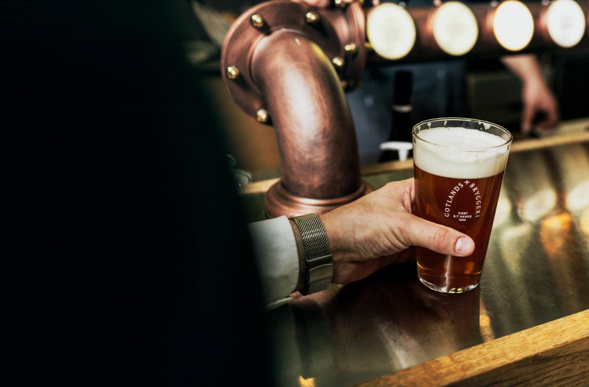 Öl i baren