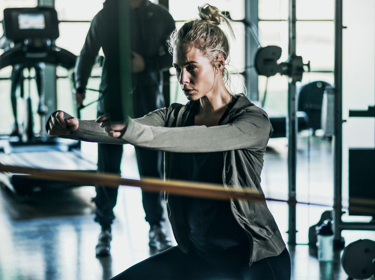 Squat i gym