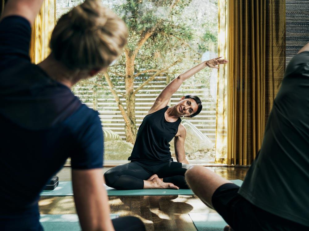 Yoga inomhus