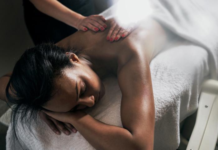 Massage på Sankt Jörgen Park